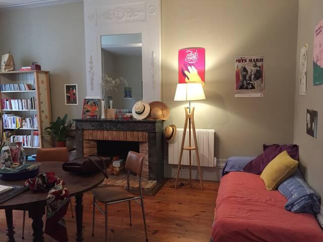 Charmant logement - Rue piétonne du centre ville