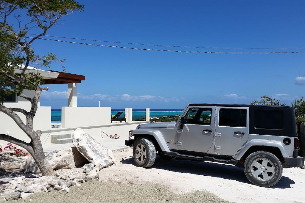 Rental includes the use of a 2010 4-Door Jeep Wrangler!