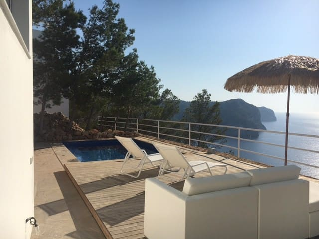 5-Star de luxe flat directly 300m above sea & pool - Sant Miquel de Balansat - Appartement