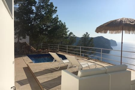 5-Star de luxe flat directly 300m above sea & pool - Sant Miquel de Balansat