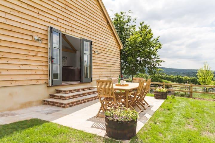 Stylish barn conversion for 10 - Hanford - Huis