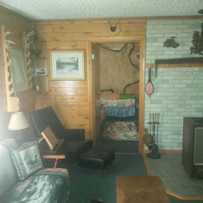 Bedroom #1 in Woodlot Cabin