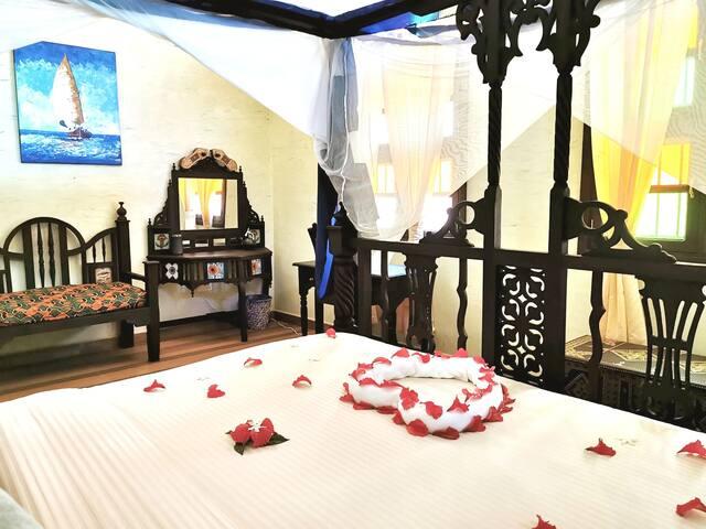Suite junior luxueuse MZIA dans villa d'hôtes