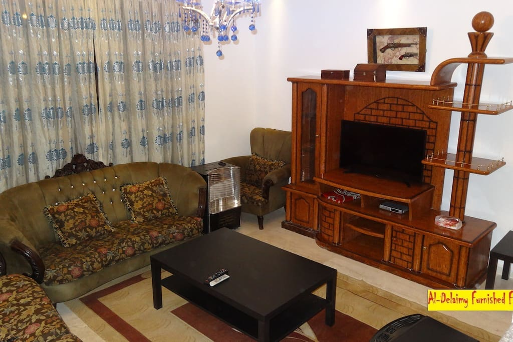 8a furnished flat for rent in amman apartments for rent for Living room amman