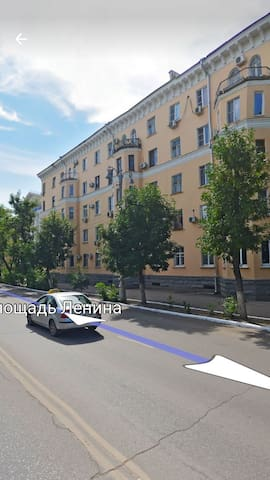 Квартира с видом на Кремль