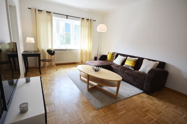 Spacious & bright 1 bedroom apartment with garden - Luxembourg - Apartment