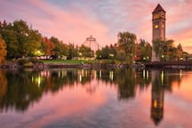 Don't miss visiting gorgeous Riverfront Park, in the heart of Downtown Spokane!