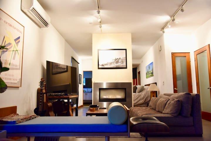 Contemporary Funk Zone Apartment