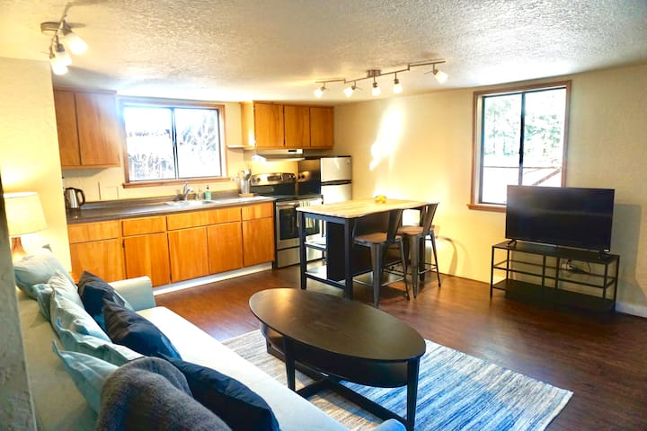 Conveniently located 1 bedroom in-law unit