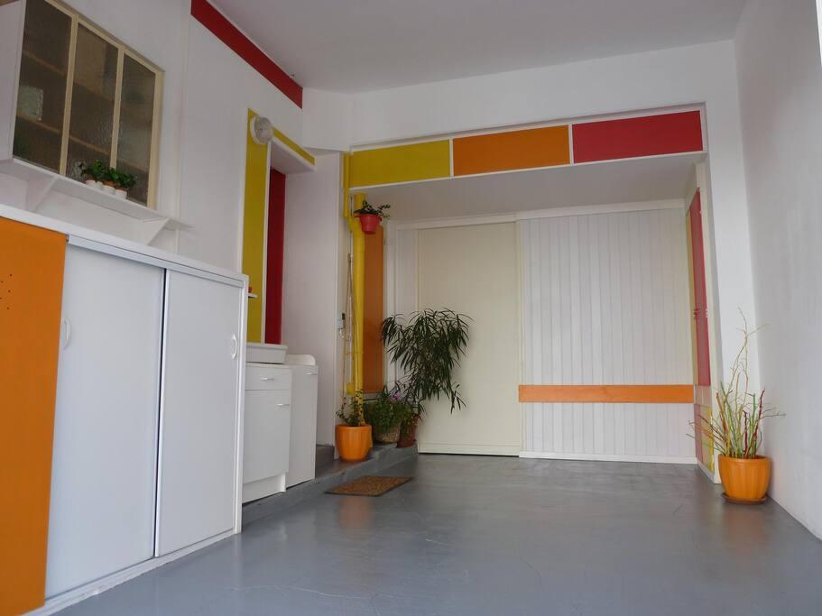 garage une voiture / one car indoor parking space