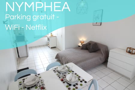 ✿ Nymphea ✿ Parking ✿ Netflix ✿ 20min de Tours ✿