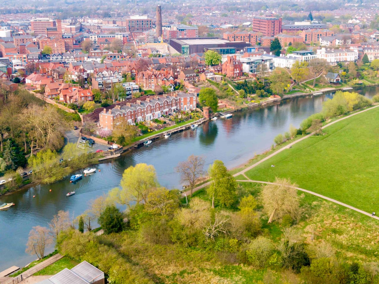 Chester - aerial photo by me