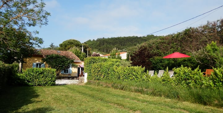 The Railway Cottage at Montazels, Near Carcassonne