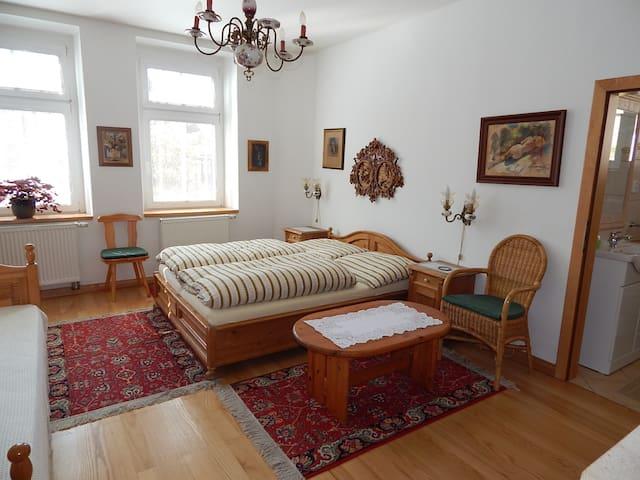Villa Siesta 3-luzkovy pokoj - Horní Maršov - Oda + Kahvaltı