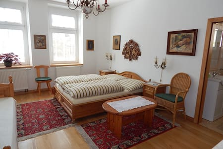 Villa Siesta 3-luzkovy pokoj - Horní Maršov - ที่พักพร้อมอาหารเช้า
