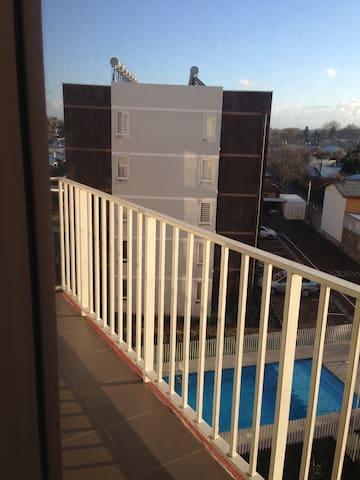 private room and toilet/habitación y baño privado - Chillan - Apartment