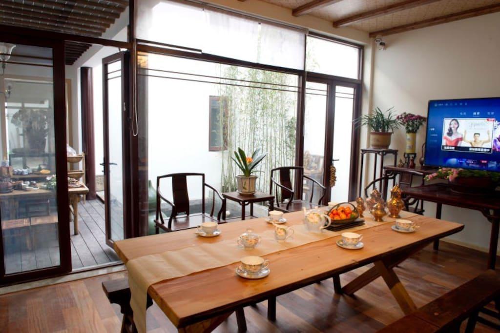 庭园香远内客厅