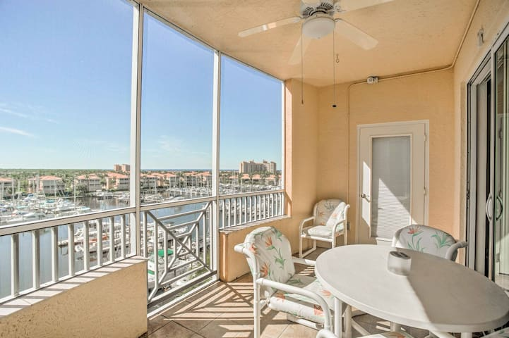 Burnt Store Marina Condo w/ Plush Resort Amenities