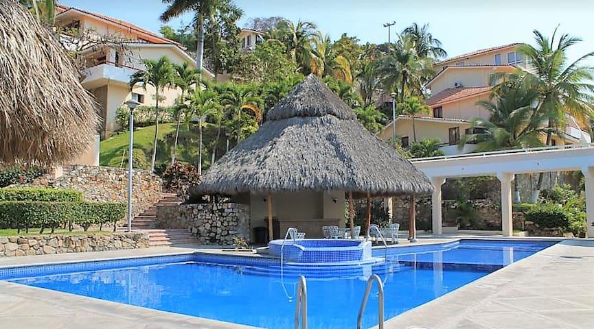 Villas del palmar, Manzanillo - Manzanillo - Apartament