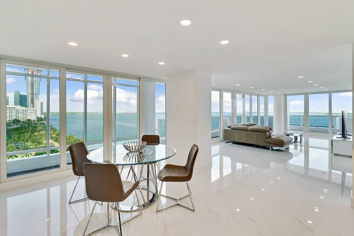 Downtown Miami 1434 | Monthly Rental 40% Off | Two Bedroom Waterfront Condo