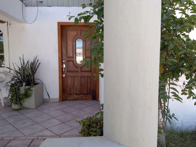 Margarita's house.