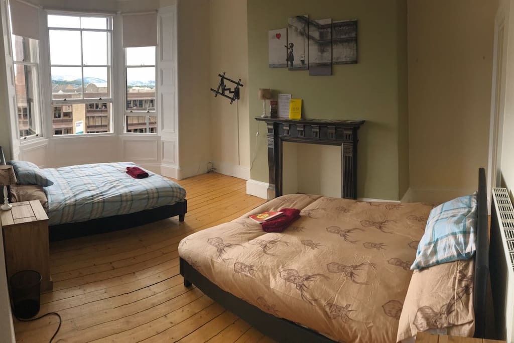 Room 1 - Two double beds