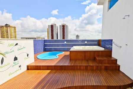 Suite central para 2 pessoas com café incluso! - Foz de Iguazú