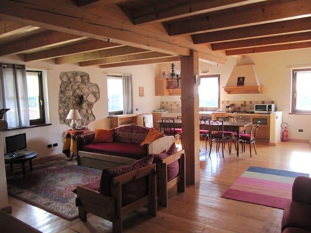 Casa Sissi vicino alle Terme di Comano - Dorsino - Lägenhet