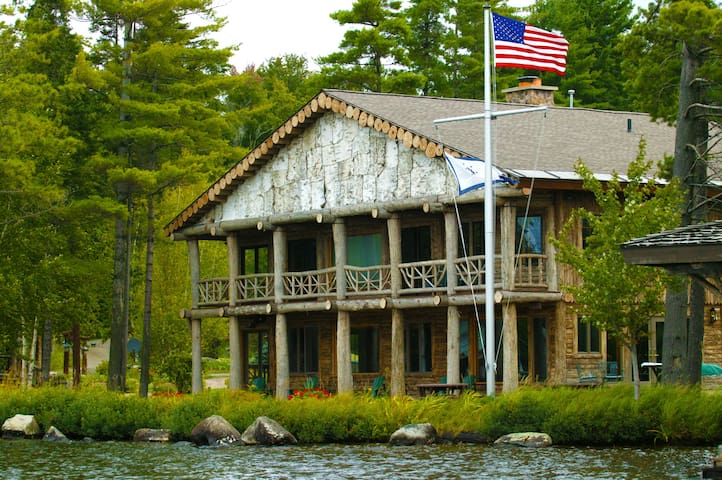 Parthenon - Adirondack Lake Home - St. Regis Lake