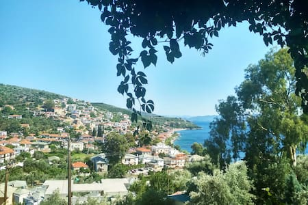 Cosy Apartment With View In α Beautiful Village