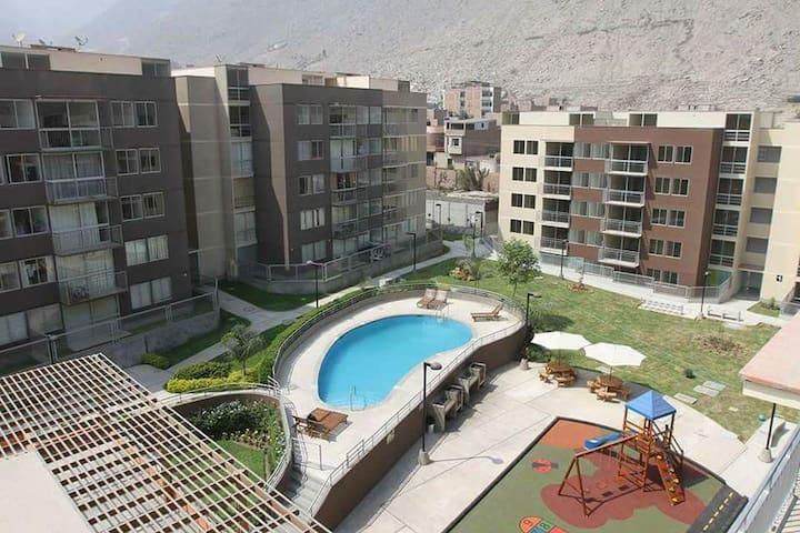 Lindo departamento con piscina en Chaclacayo!! - Chaclacayo - Apartment