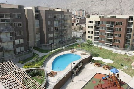 Lindo departamento con piscina en Chaclacayo!! - Chaclacayo - 公寓