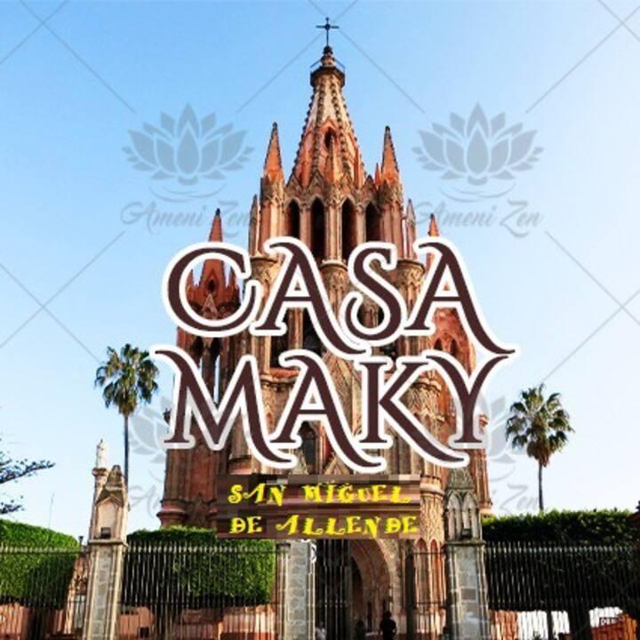 CASA MAKY, A dos cuadras del jardín principal Md