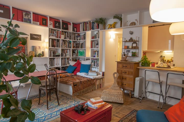 Green Flat in the heart of Paris - París - Pis