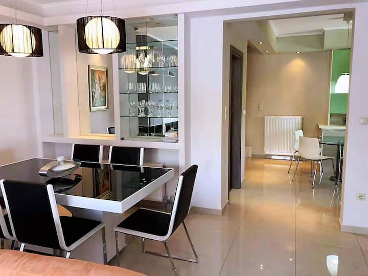 Brand new apartment,near the Athens biggest Mall!!