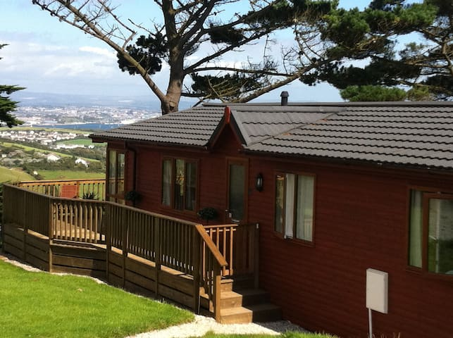 Luxury 3 bedroom lodge at Whitsand Bay Fort - Cornwall - 小木屋