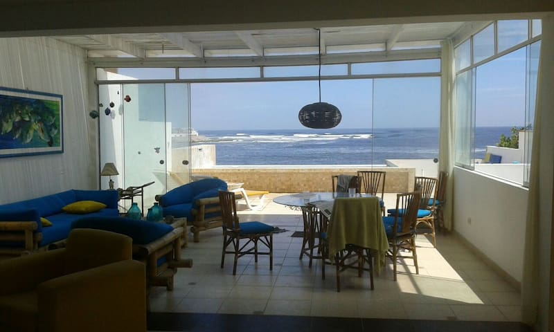 #surf_house_peru #room of the waves - Punta Hermosa - House