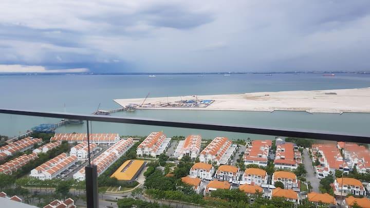 Magnificent sea view penthouse unit