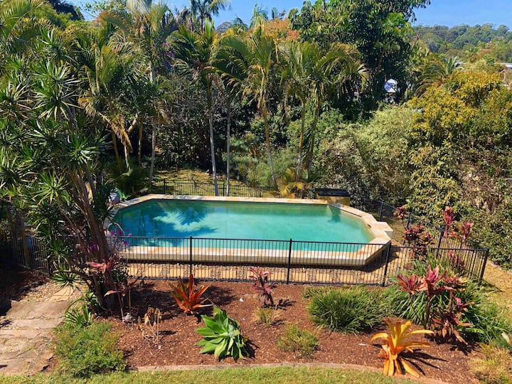 Tropical paradise in the Byron Shire