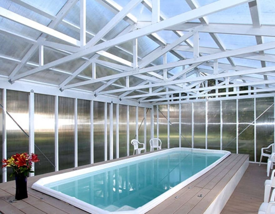 The pool available in any weather!