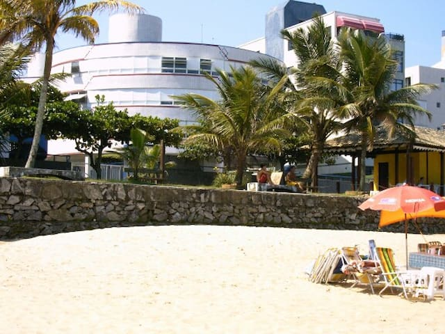 Guaruja -Tombo beach- Apartament infront of beach-