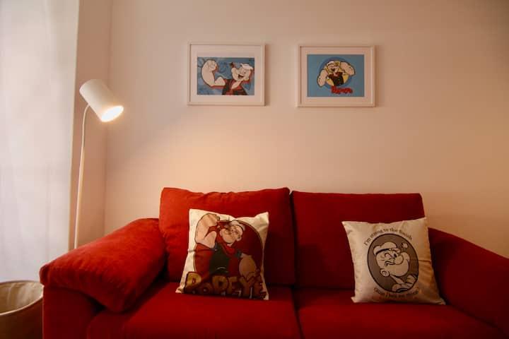 GIL2. Tres dormitorios en el centro mismo de Vigo.