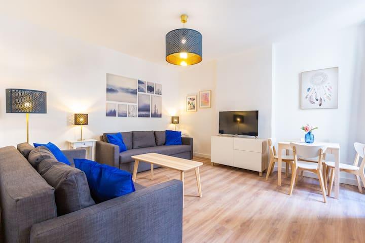Appartement T3- 6PERS-Joliette-Mucem-Vieux Port