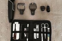 Electric razor, nail clipper, etc.