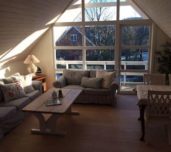 Hyggelig lejlighed med flot udsigt - Frederikshavn - Lejlighed