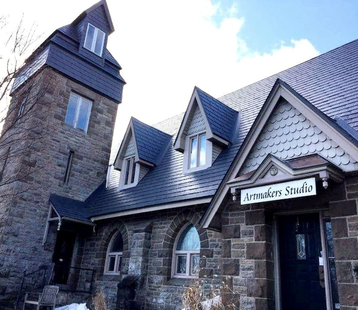 Restored former Church near Perth and Smiths Falls
