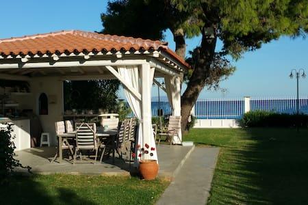Villa Peleia - Beachfront - Agios Panteleimon