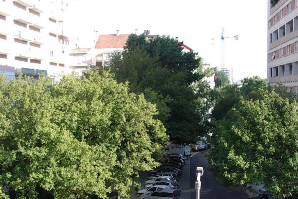 Vista rua principal