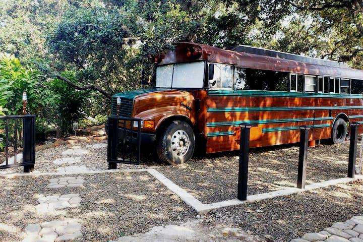 Glamping Bus 🚍✨🍃 Hotel Quinta Pat