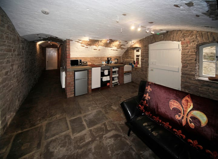 Unique Cellars at Priory Near Bristol with Parking